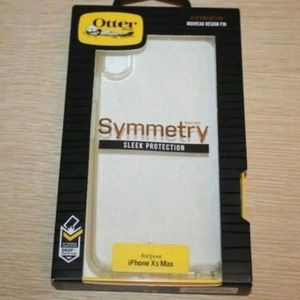 Otterbox iPhone XS Max Clear Sparkle Symmetry Case